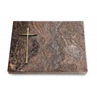 Grabtafel Orion Pure Kreuz 2 (Bronze)