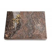 Grabtafel Orion Delta Rose 2 (Bronze)