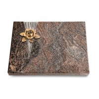 Grabtafel Orion Delta Rose 4 (Bronze)