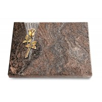 Grabtafel Orion Delta Rose 8 (Bronze)