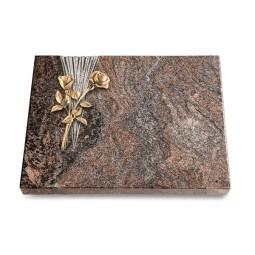 Grabtafel Orion Delta Rose 10 (Bronze)