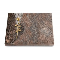 Grabtafel Orion Delta Rose 12 (Bronze)