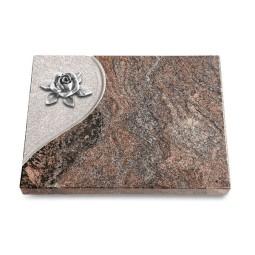 Grabtafel Orion Folio Rose 4 (Alu)