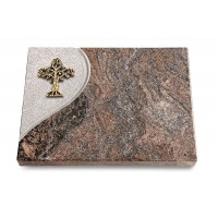 Grabtafel Orion Folio Baum 2 (Bronze)