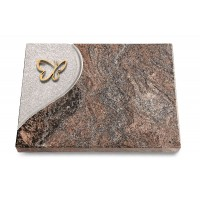 Grabtafel Orion Folio Papillon (Bronze)