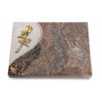 Grabtafel Orion Folio Rose 8 (Bronze)