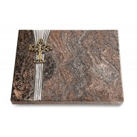 Grabtafel Orion Strikt Baum 2 (Bronze)