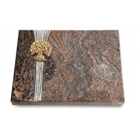 Grabtafel Orion Strikt Baum 3 (Bronze)