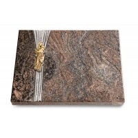 Grabtafel Orion Strikt Maria (Bronze)