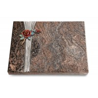 Grabtafel Orion Strikt Rose 1 (Color)