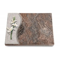 Grabtafel Orion Wave Orchidee (Color)