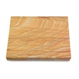 Grabtafel Omega Marmor Pure (ohne Ornament)