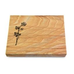 Grabtafel Omega Marmor Pure Rose 2