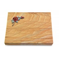 Grabtafel Omega Marmor Pure Rose 1 (Color)