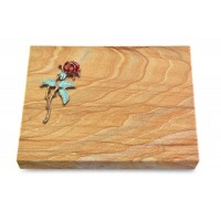 Grabtafel Omega Marmor Pure Rose 2 (Color)