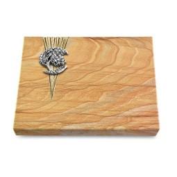 Grabtafel Omega Marmor Delta Baum 1 (Alu)