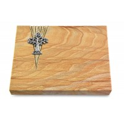 Grabtafel Omega Marmor Delta Baum 2 (Alu)