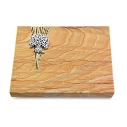 Grabtafel Omega Marmor Delta Baum 3 (Alu)