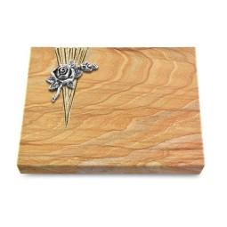 Grabtafel Omega Marmor Delta Rose 1 (Alu)
