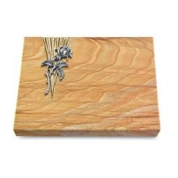 Grabtafel Omega Marmor Delta Rose 2 (Alu)