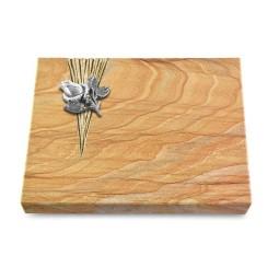 Grabtafel Omega Marmor Delta Rose 3 (Alu)
