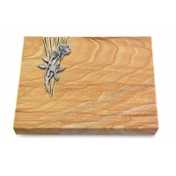 Grabtafel Omega Marmor Delta Rose 6 (Alu)