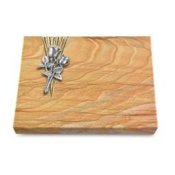 Grabtafel Omega Marmor Delta Rose 11 (Alu)
