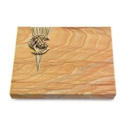 Grabtafel Omega Marmor Delta Baum 1 (Bronze)