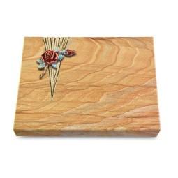 Grabtafel Omega Marmor Delta Rose 1 (Color)