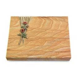 Grabtafel Omega Marmor Delta Rose 6 (Color)