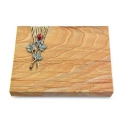 Grabtafel Omega Marmor Delta Rose 7 (Color)