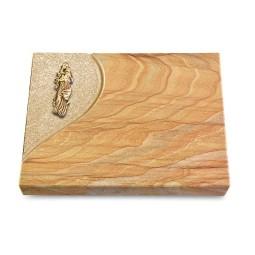 Grabtafel Omega Marmor Folio Maria (Bronze)