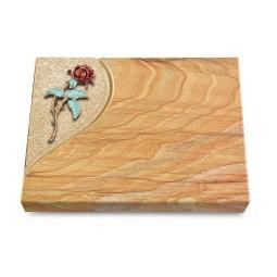 Grabtafel Omega Marmor Folio Rose 2 (Color)