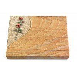 Grabtafel Omega Marmor Folio Rose 6 (Color)