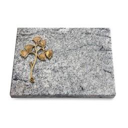 Grabtafel Paradiso Pure Gingozweig 1 (Bronze)