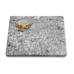 Grabtafel Paradiso Pure Taube (Bronze)
