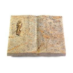 Livre/New Kashmir Kreuz/Rose (Bronze)