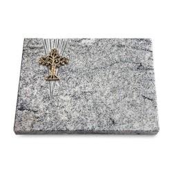 Grabtafel Paradiso Delta Baum 2 (Bronze)