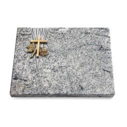 Grabtafel Paradiso Delta Kreuz 1 (Bronze)