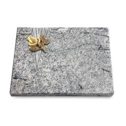 Grabtafel Paradiso Delta Rose 3 (Bronze)