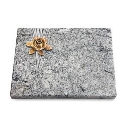 Grabtafel Paradiso Delta Rose 4 (Bronze)