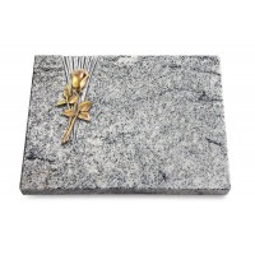Grabtafel Paradiso Delta Rose 8 (Bronze)