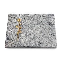 Grabtafel Paradiso Delta Rose 12 (Bronze)
