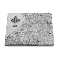 Grabtafel Paradiso Folio Baum 2 (Alu)