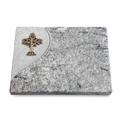 Grabtafel Paradiso Folio Baum 2 (Bronze)