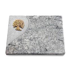 Grabtafel Paradiso Folio Baum 3 (Bronze)