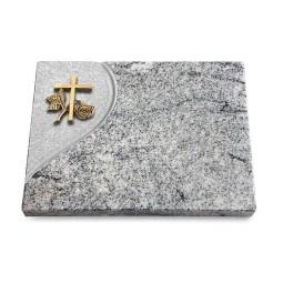 Grabtafel Paradiso Folio Kreuz 1 (Bronze)
