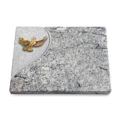 Grabtafel Paradiso Folio Taube (Bronze)