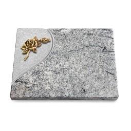 Grabtafel Paradiso Folio Rose 1 (Bronze)