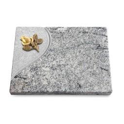 Grabtafel Paradiso Folio Rose 3 (Bronze)